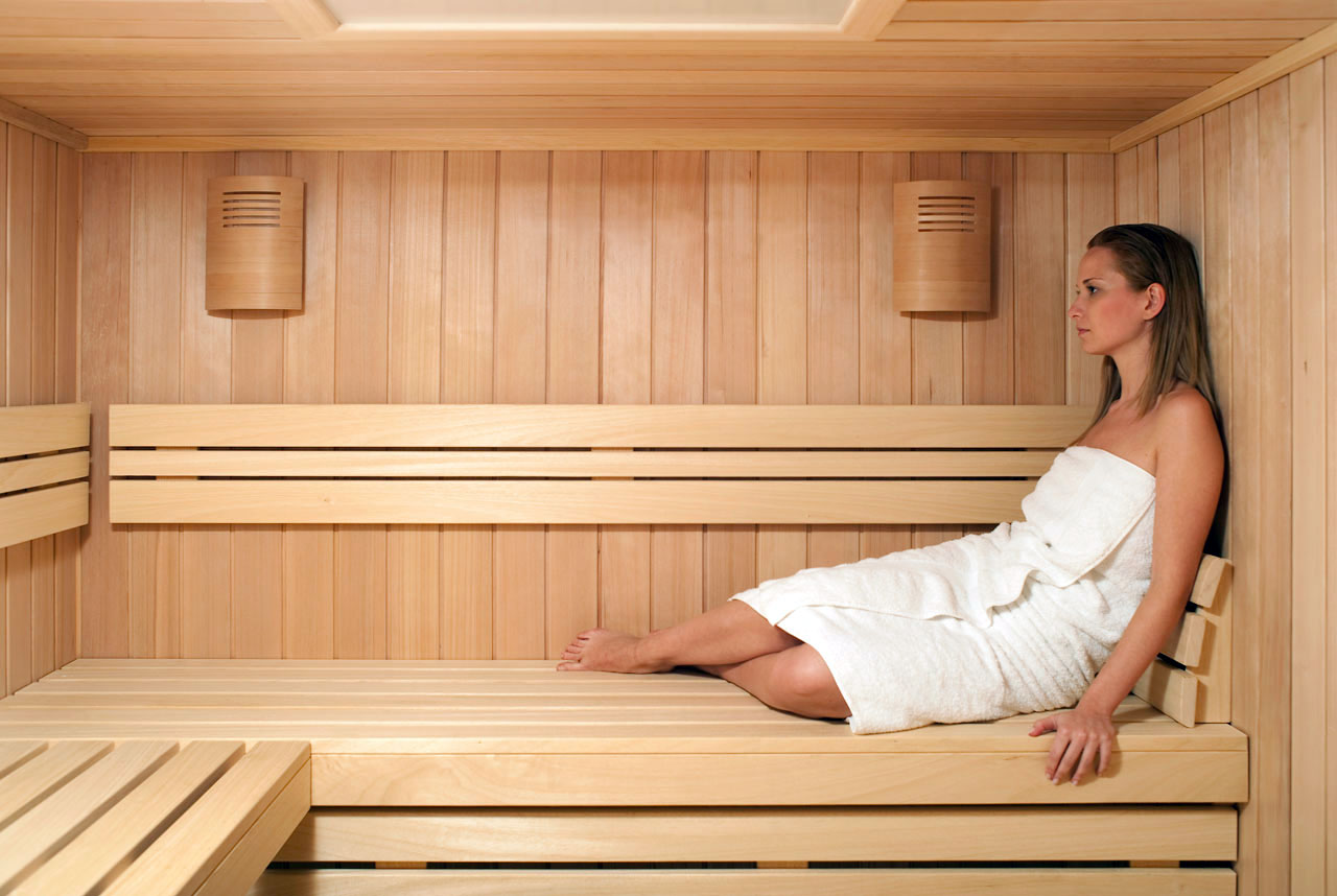 La sauna seca puede ayudar a tu cuerpo