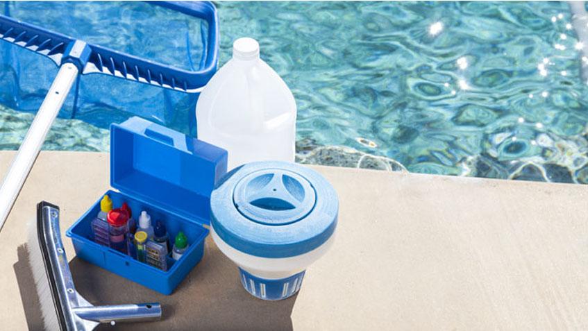 Limpia ocasionalmente tu piscina