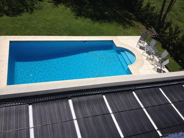 Los paneles solares como calentadores