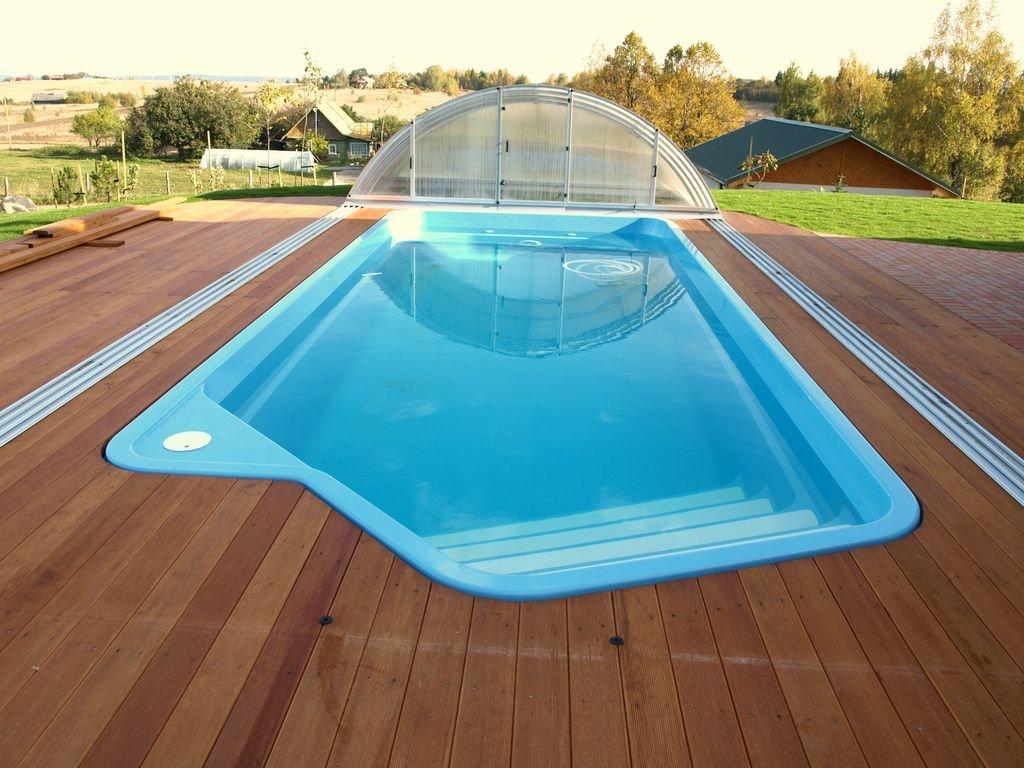 Las ventajas de la piscina de fibra de vidrio
