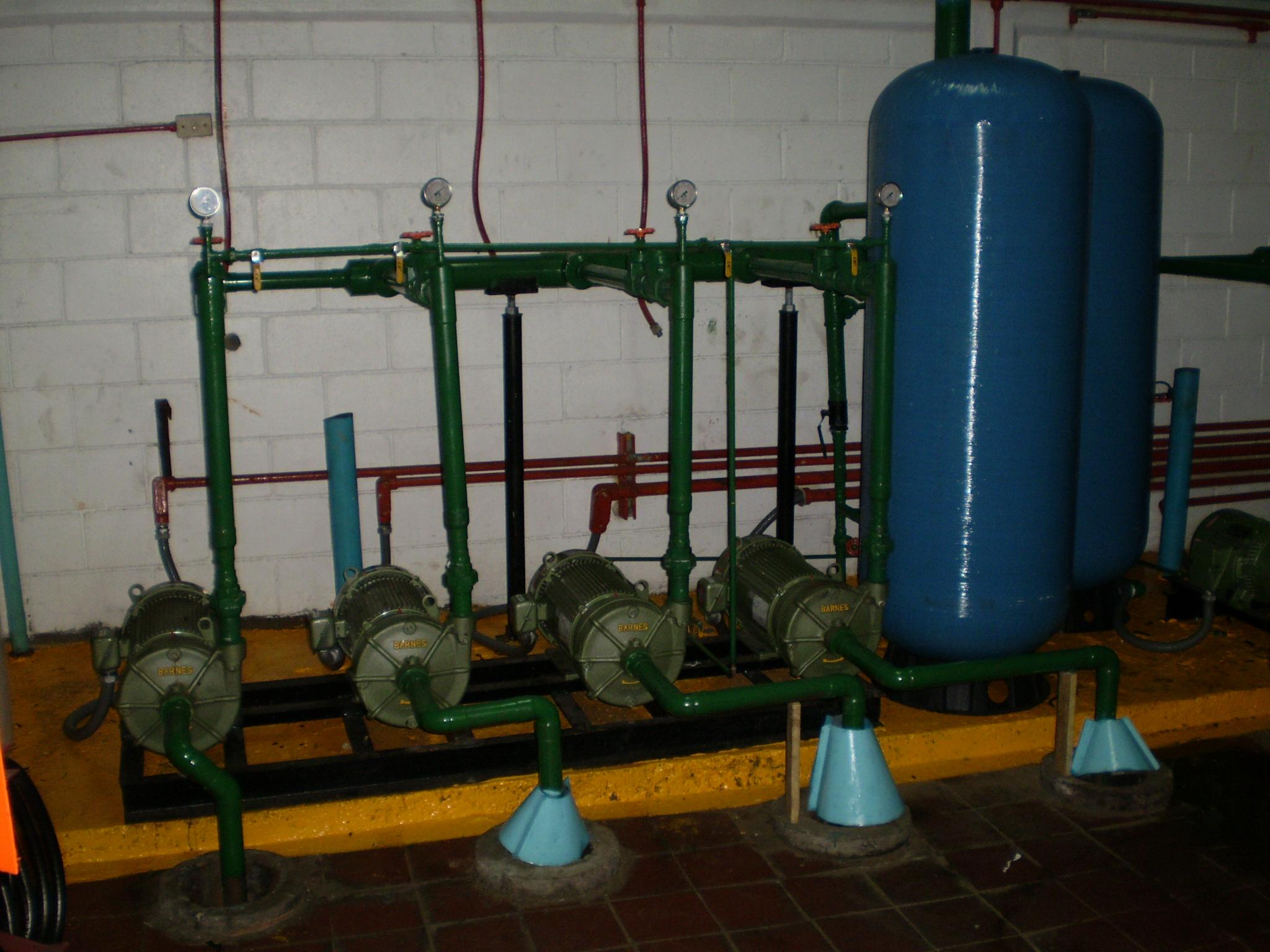 Tipos de sistemas hidroneumáticos