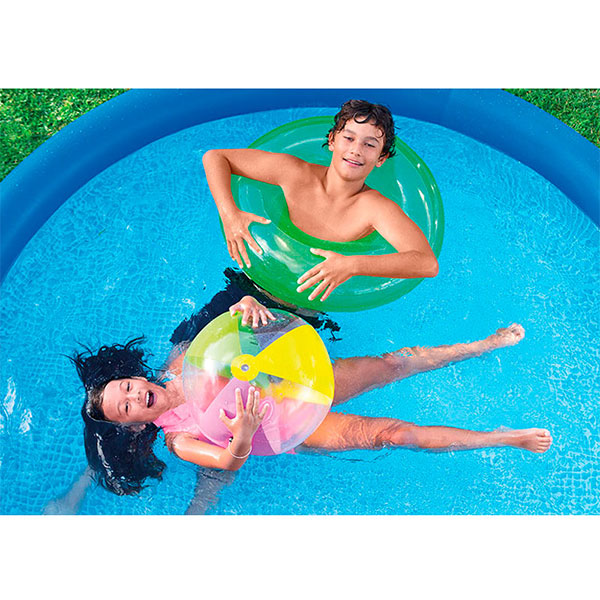 Piscina inflable easy set 002104 aquasistemas for Piscina inflable intex