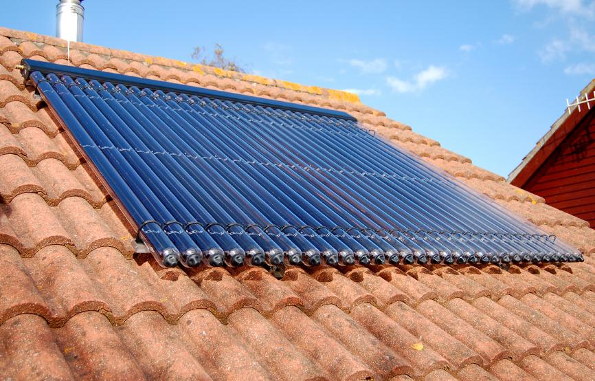 Datos sobre el colector solar