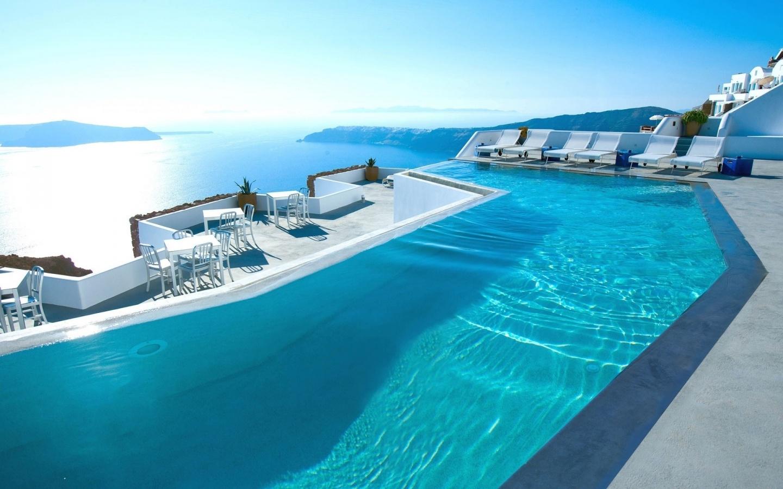 Así es como se originaron las piscinas